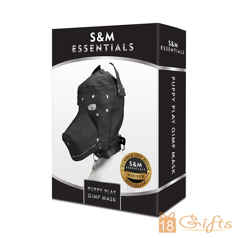 S&M Essentials 狗奴頭套